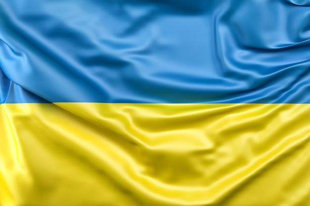 Flag of ukraine Free Photo