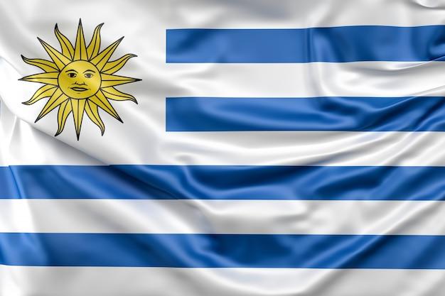 Flag of uruguay Free Photo