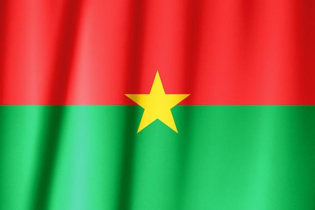 汎アフリカ色の旗 Premium写真