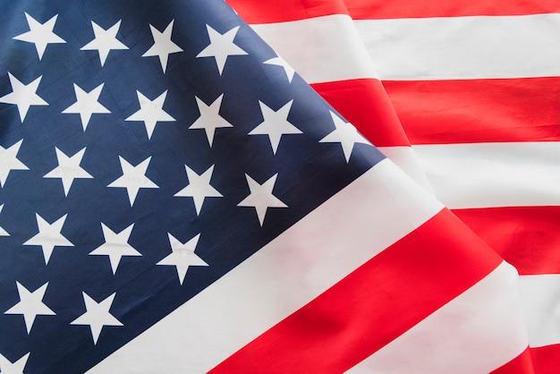 Flapping usa flag Free Photo