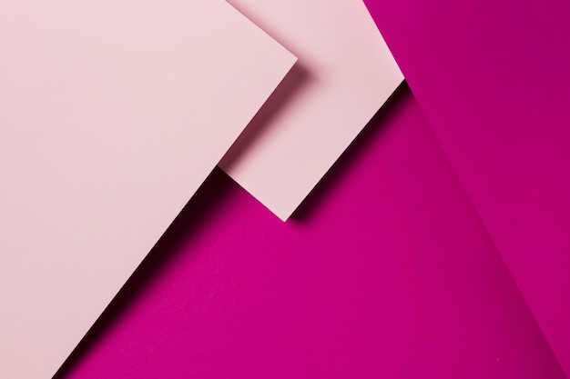 Flat lay assortment of colourful paper sheets Free Photo