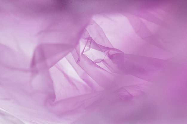 紫色のビニール袋のフラットレイの品揃え 無料写真