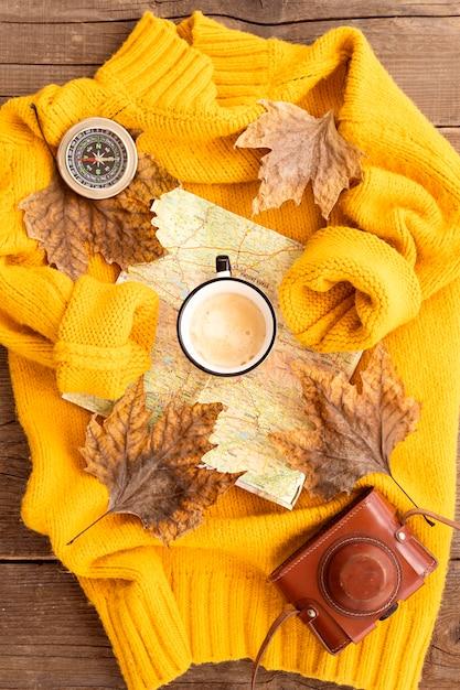 Осенние элементы на свитере Бесплатные Фотографии