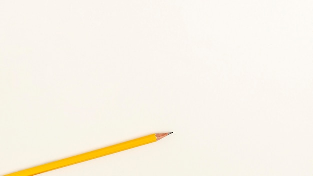 Flat lay of back to school pencil Free Photo