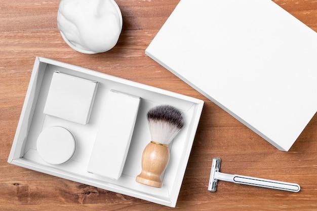 Плоские инструменты для ухода за парикмахерской Бесплатные Фотографии
