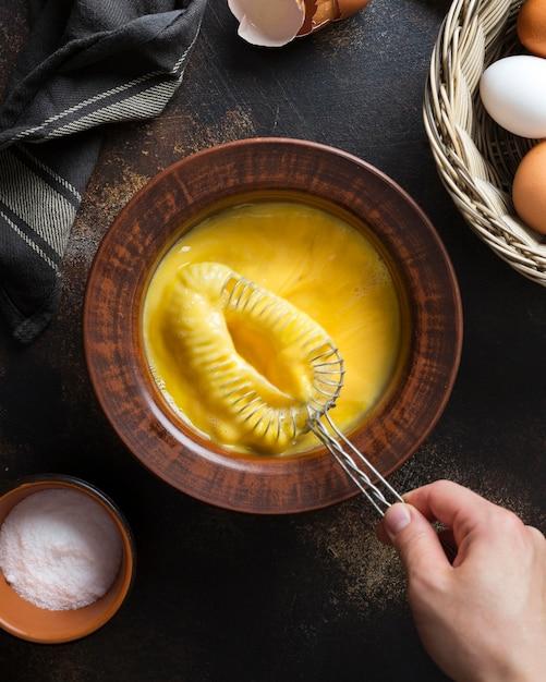 Плоская лежанка с яичным желтком Бесплатные Фотографии