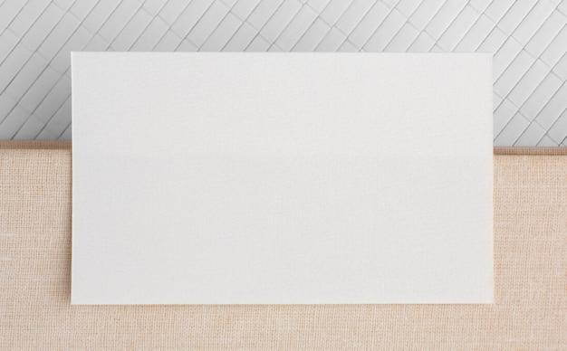 Визитная карточка с копией пространства Бесплатные Фотографии