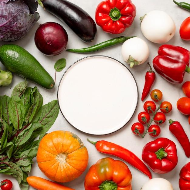 Композиция из свежих овощей Бесплатные Фотографии