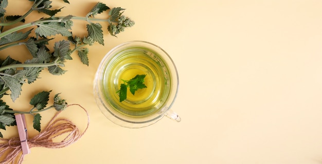 Lemon Balm Tea for better sleep
