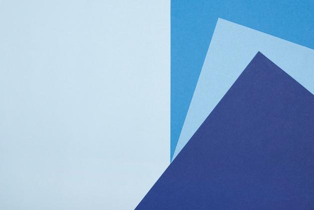 Плоская планировка синей бумаги понедельника с копией пространства Бесплатные Фотографии
