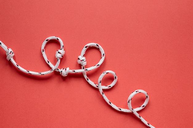Плоские матросские струны с узлом Бесплатные Фотографии