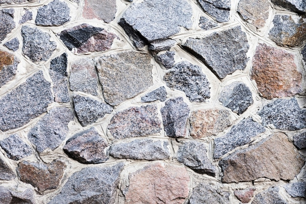Flat lay seamless texture of stones Free Photo