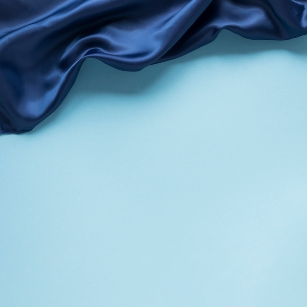 Flat lay of textile for ocean's day with copy space Free Photo