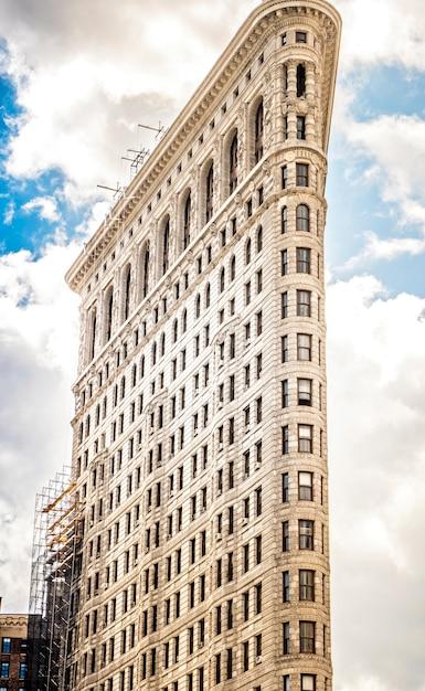 アメリカ、ニューヨークのフラットアイアンビル Premium写真