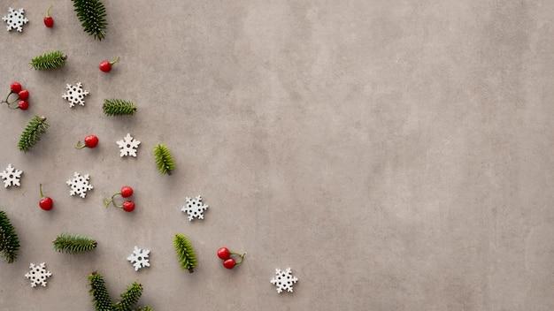 美しいクリスマスイブのコンセプトの皮剥ぎの刑 無料写真