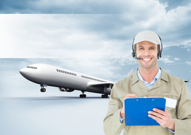 Полет компьютерной графики самолет беспроводной крышка Бесплатные Фотографии