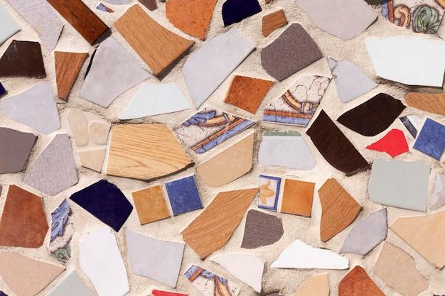 바닥 컬러 모자이크 배경 무료 사진