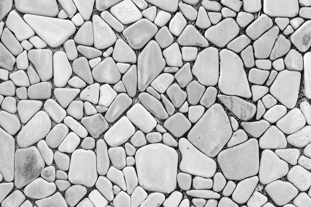 Floor texture of uniform stones Free Photo