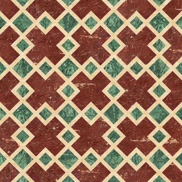 Напольная плитка. мозаика из натурального камня. мраморная и гранитная плитка. фоновая текстура Premium Фотографии