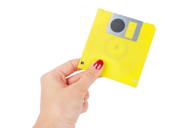 Floppy disk isolated Premium Photo
