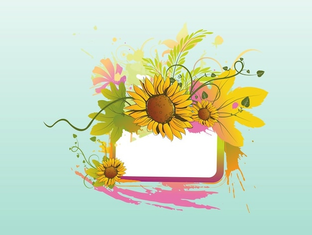floral label template photo free download