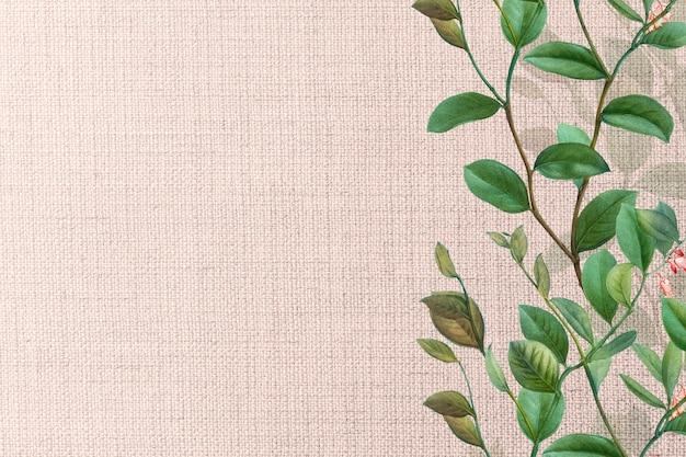 花柄のピンク織りの織り目加工 無料写真