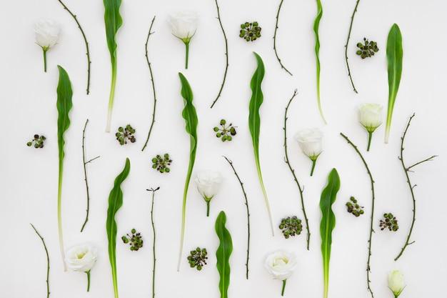 꽃 패턴 배경 무료 사진