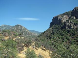 Flume through the foothills Free Photo