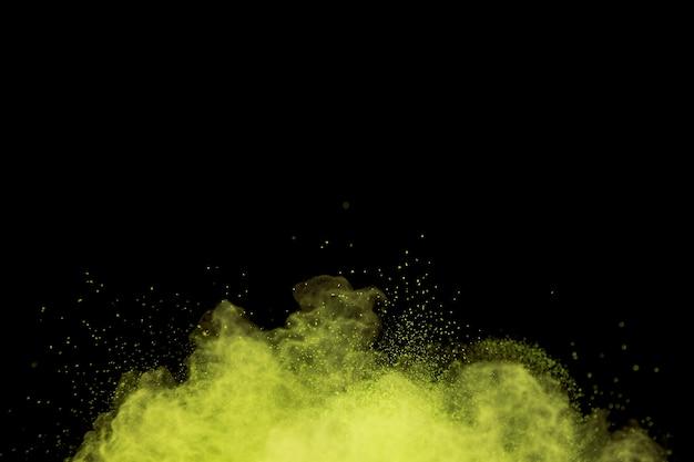 Flying vague dye powder cloud Free Photo