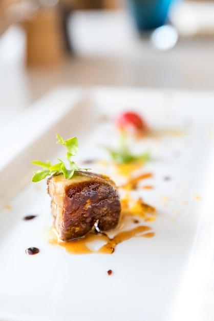 Foie gras, grilled Premium Photo