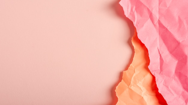 Folded pastel paper sheets Free Photo
