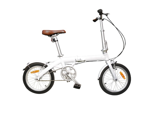 Folding bicycle for city roads Premium Photo