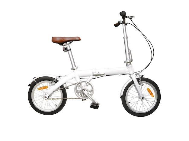 街路用折りたたみ自転車 Premium写真