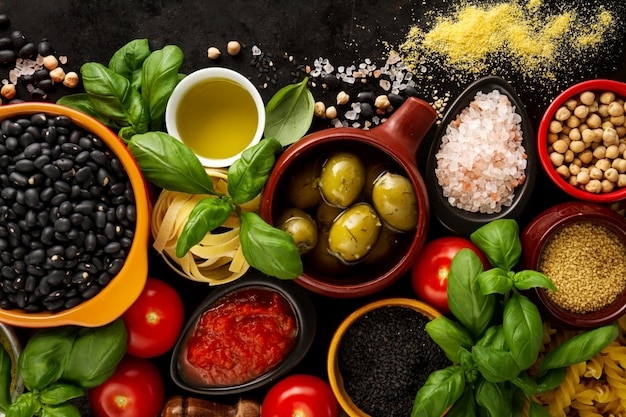 Food Background italian food vectors, photos and psd files | free download