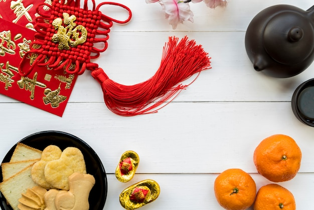 Food for chinese new year Free Photo