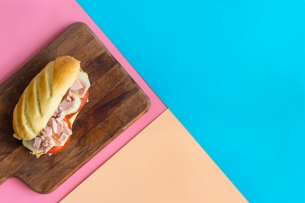 Food fot back to school Premium Photo