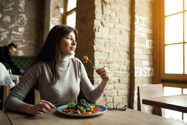 Food woman happy girl people Free Photo