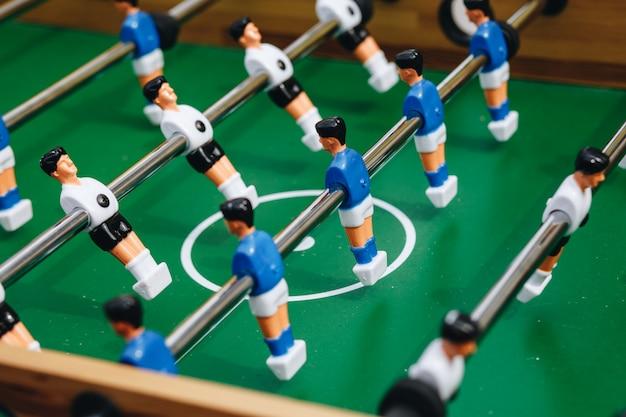 Foosball table soccer Premium Photo
