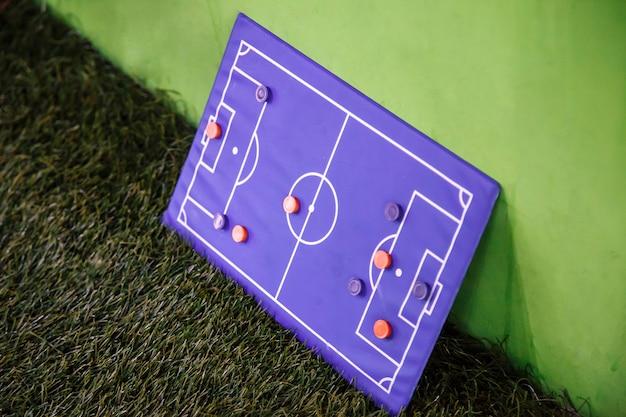 Football board for tactics Premium Photo