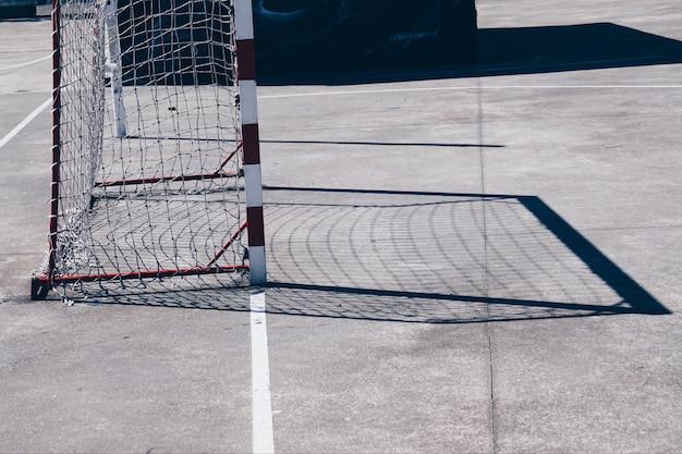 Football soccer sport shadow silhouette Premium Photo