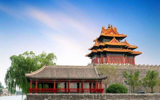 The forbidden city in beijing, china Premium Photo
