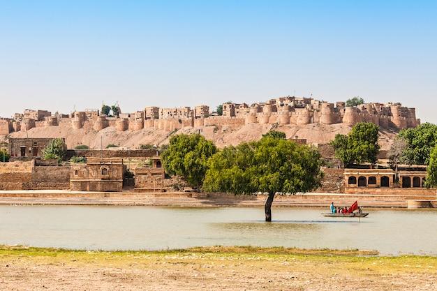 Fort in jaisalmer Premium Photo