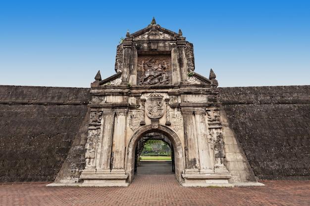 Fort santiago Premium Photo