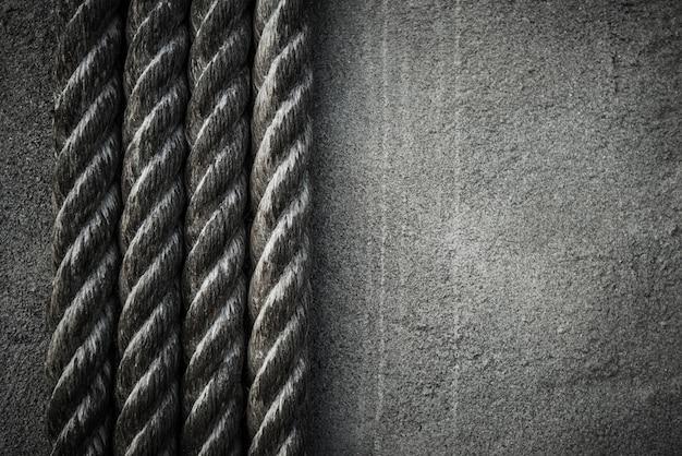 Four ropes background Free Photo