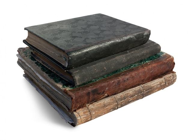 Four vintage books. Free Photo