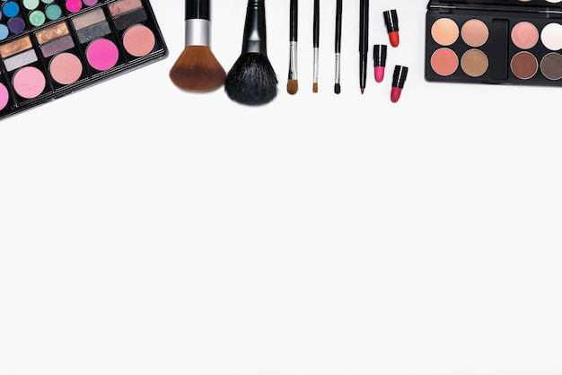 Makeup brushes mac set