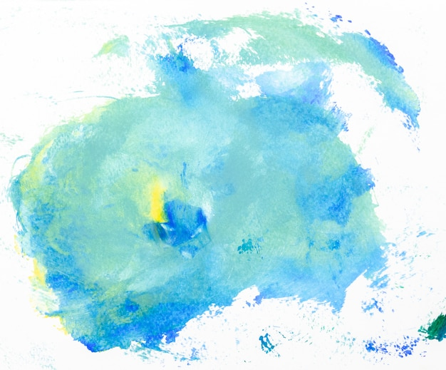 Frame watercolor art hand paint abstract and background or wallpaper Premium Photo