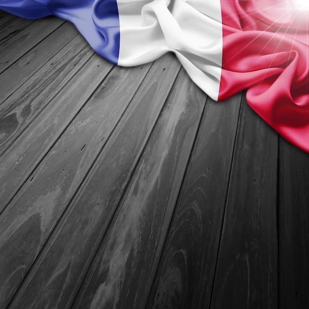 France flag background Free Photo