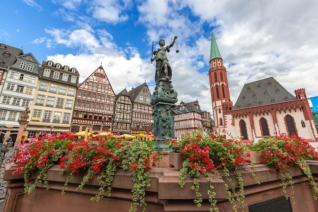 Frankfurt old town Premium Photo