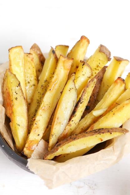 Французская картошка фри Бесплатные Фотографии
